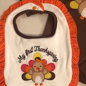 Starting Out Matching Sets - MY FIRST THANKSGIVING 4PC BABY GIRL OUTFIT